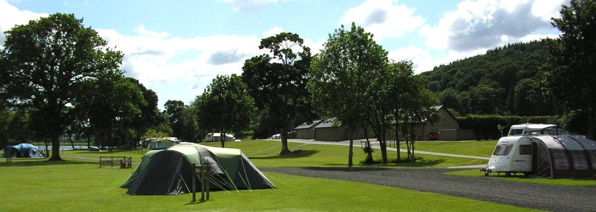 Beautiful surroundings for your camping or caravan holiday