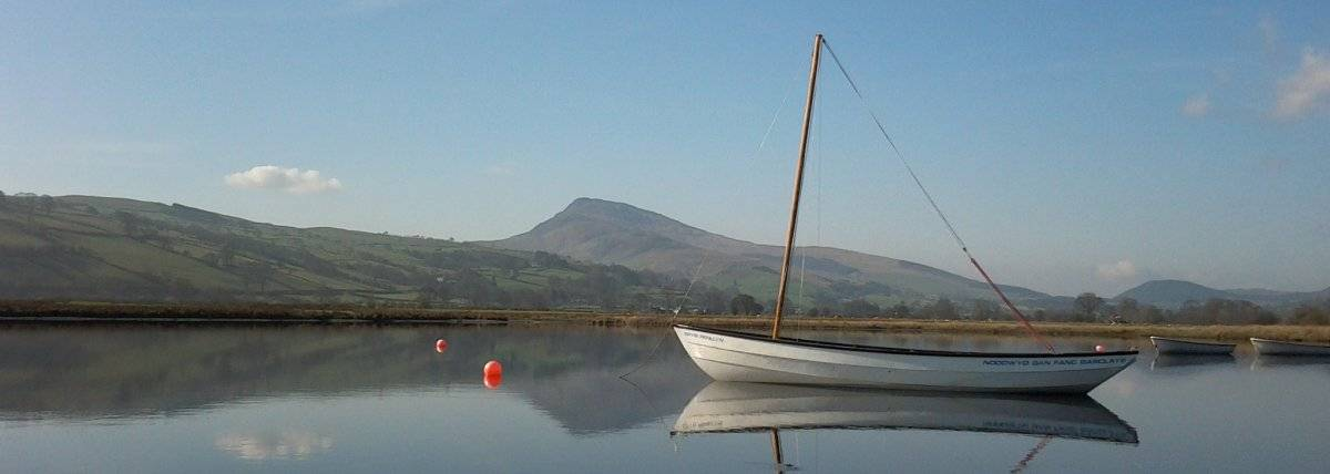 Peaceful view of Llyn Tegid from Glanllyn Caravan & Camping Park