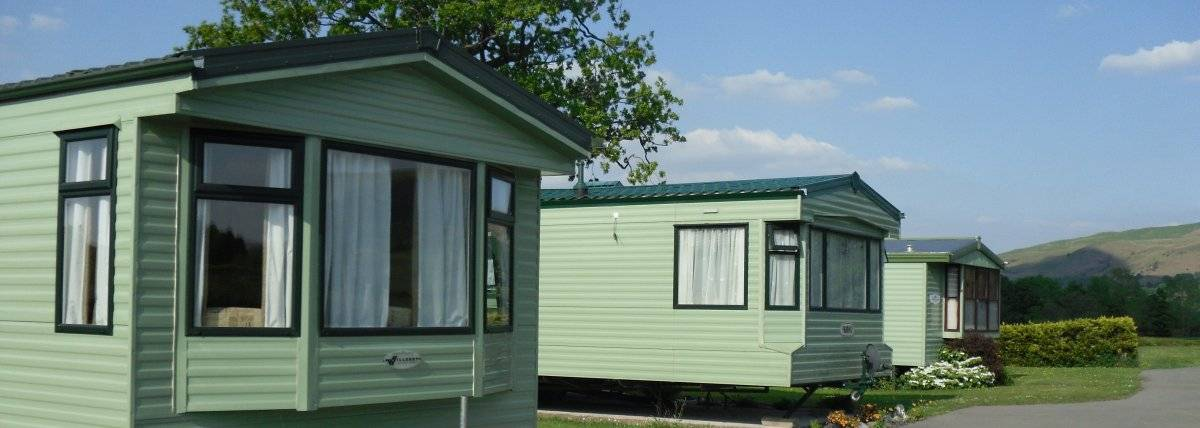 Lovely small private static caravan site