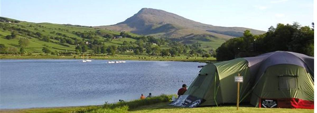 Aran Mountain and Lake from Glanllyn Caravan & Camping Park