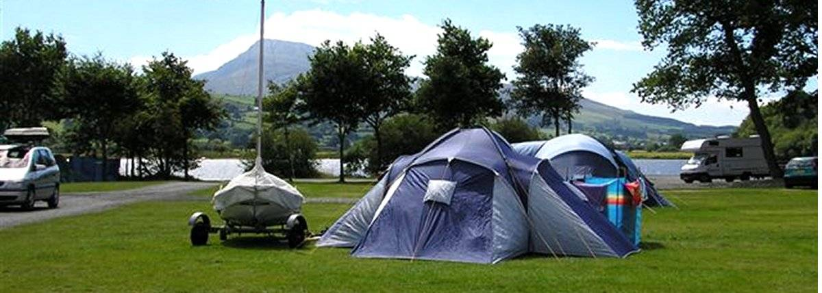 Camping at Glanllyn