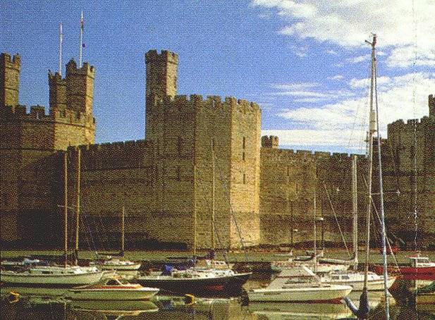 Caernarfon Castle in all its glory