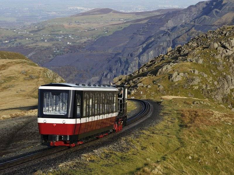 The famous Snowdon Railway